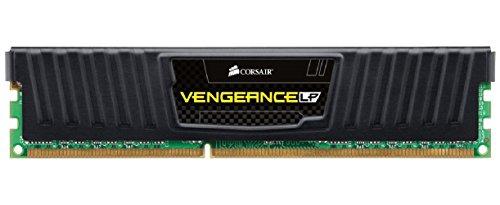 Corsair CML8GX3M1A1600C10 Vengeance Low Profile 8GB (1x8GB) DDR3 1600 Mhz CL10 XMP Performance Desktop Memory Schwarz