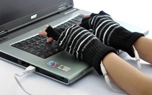 Alimentado USB portátil calefacción lana tejer calentador
