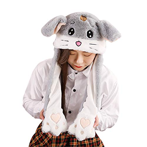 ge Hamster Plüsch Tier Hut Mütze Halloween Party Geschenk Weihnachten Neuheit Party Cosplay Dress Up ()