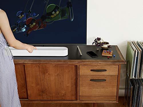 41gRzQMYFWL [Bon Plan Amazon] Sonos Beam - La Barre de Son TV compacte et intelligente avec le service vocal Amazon Alexa intégré. Home Cinéma multiroom sans Fil et musique en Streaming dans toutes les pièces - Blanc