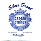 CUERDA VIOLONCELLO - Jargar (Azul) (Plata) 4ª Medium Cello 4/4 (C) Do (Una Unidad)