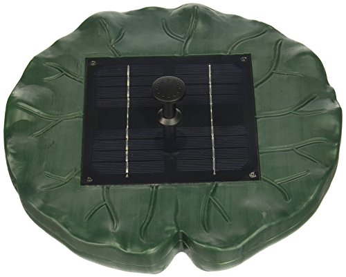New Solar Powered Floating Lily Garden Pond Fountain (Lily Pond Fountain)