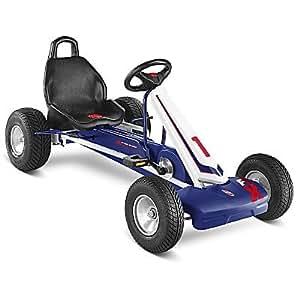 PUKY Go-Cart Kart a pédale F1 L (Couleur: Bleu) Kart