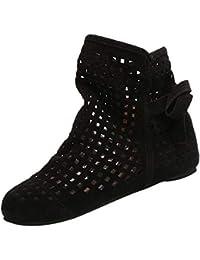 036ce8229187c POLPqeD Zapatos Mujer otoño 2018 Botines Mujer de Vestir Planas Botines con Flecos  Otoño Invierno Calzado