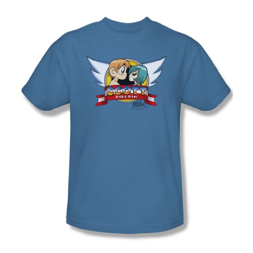 ner Sonic Scott T-Shirt, XXX-Large, Carolina Blue (Pilgrim Mann)