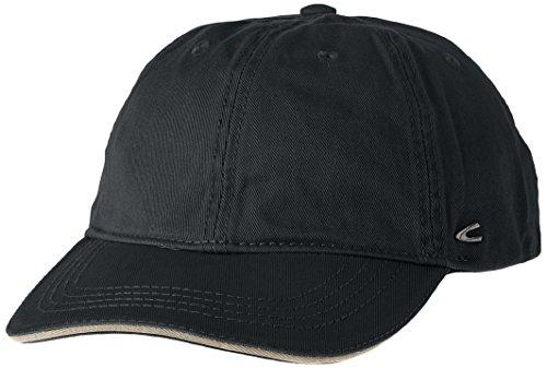 Camel Active Herren 9C09 Baseball Cap, Schwarz (BLACK 9), Medium