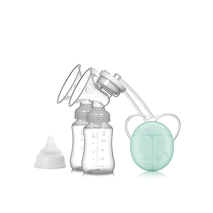 ZRYstore Breast Pump Double Breast pumps Safe Milk Storage Bottle Dual Control Milk Suction and Breast Massager Breast Care USB Charging