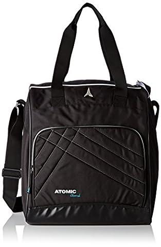 Atomic, AL5034310, Femme Sac pour Bottes et Accessoires de Ski (46l), 40x37x27 cm, Couleur: Noir, ,BOOT + ACCESSORY BAG W