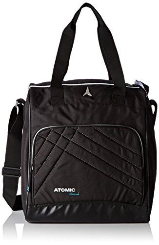 Atomic Damen Skischuh- und Accessoire-Tasche, 46 l, Piste und All Mountain, Verstellbare Schulterträger und Griffe, AL5034310, Boot & Accessory Bag, Schwarz -