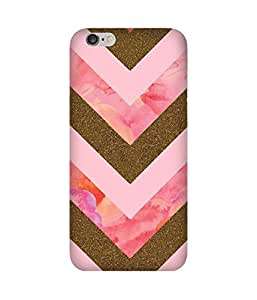 Pink And Golden Apple iPhone 6S Case