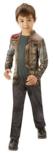 Classic Kostüm Finn Kind - Rubie's 3620257 - EP7 Finn classic child, L, braun/grau