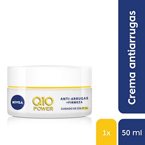 NIVEA Q10 Power Antiarrugas Cuidado Día Triple Defensa