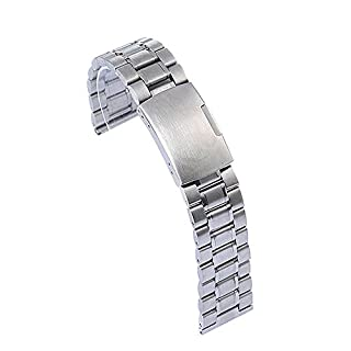 Trait-Tech®22mm Outil Réparation Bracelet de Remplacement en Acier Inoxydable pour LG G watch R Urbane W150 (Argent) (B00ZI2JWMM) | Amazon price tracker / tracking, Amazon price history charts, Amazon price watches, Amazon price drop alerts