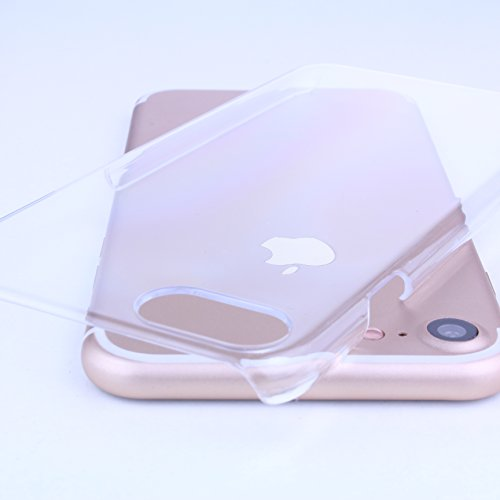 iPhone 7 Premium Crystal Clear Hardcase durchsichtig Schutzhülle [ Transparent ] (Handy Hard Case)