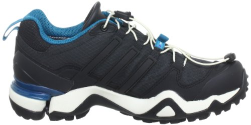 adidas Performance Terrex Fast R GTX Low G64506 Damen Sport- & Outdoor Sandalen Schwarz (Solid Grey F11 / Black 1 / Vivid Teal S13)