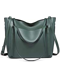 83fcd1b22d0f Amazon.fr   sacs cuir - Vert   Cabas   Femme   Chaussures et Sacs