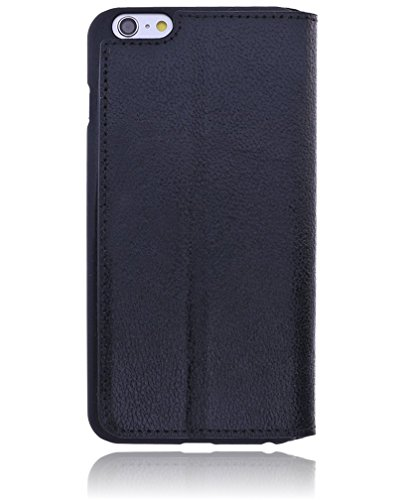 "Burkley ""BASIC"" Apple iPhone 6 Plus / 6S Plus (5.5 Zoll) Hülle Leder Handy-Tasche 