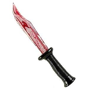 Plastik Blutige Klinge Halloween Gefälschte Messer Messer