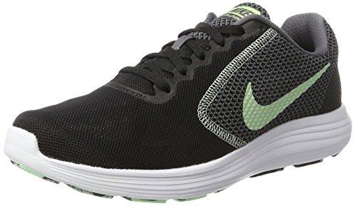 Nike Revolution 3, Scarpe Running Donna, Grigio (Dark Grey/White/Black 001), 38 EU