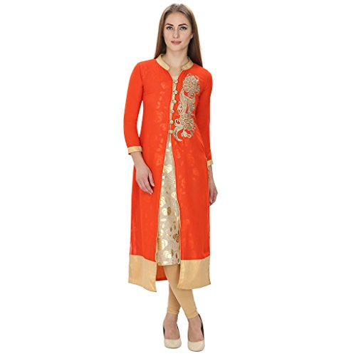 Nextar Combo of Georgette Kurti and Inner