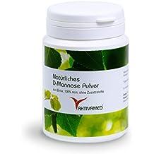 D-Mannose ❤️ aus Birke ❤️ - diätische Behandlung gegen Blasenentzündungen - 100g Natural Premium Pulver - 2 Monatspackung (1x100g) - Made in Germany + Analysezertifikat - naturbelassen, vegan, unbestrahlt, rein - NICHT aus Mais oder Glucose!