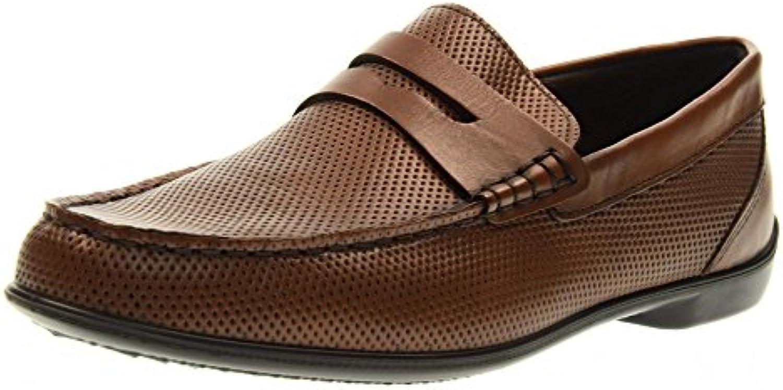 IGICO Man Mokassin Schuhe 77026/00 BROWN