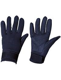 Dublin Neoprene Adults Horse Riding Gloves - Navy Blue
