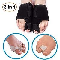 Zehenstrecker und Zehenspreizer (3 Paar), Zehenseparatoren und Korrektoren für Bunion, Pain Relief Kit Stretcher... preisvergleich bei billige-tabletten.eu