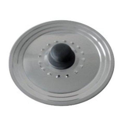 Baumalu 342722 Couvercle Trou Vapeur Inox Multi Degrés 28/30/32 cm