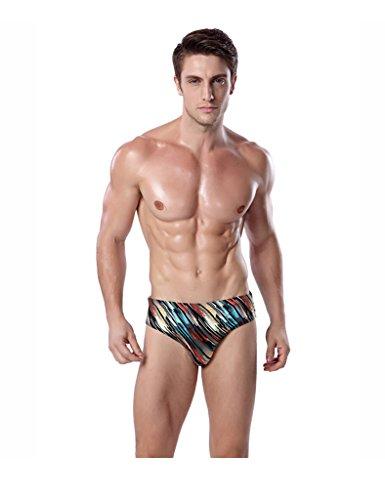 Legou Herren Slips Schwimmen Shorts Bademode Hosen Multicolor1