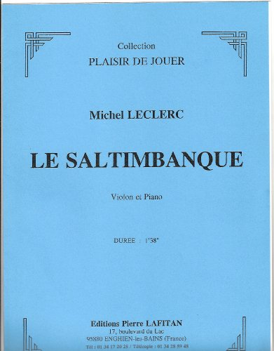 Le saltimbanque : Violon et piano (Colle...