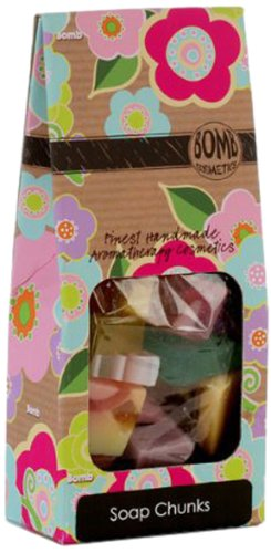 Bomb Cosmetics Soap Chunks Handmade Gift Pack