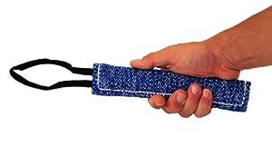 Bâton à mordre pour l'entraînement - Fabriqué en lin français de qualité - Parfait pour l'entraînement - Taille S - 4 cm de large par 20 cm de long - 2 poignées à chaque extrémité - Disponible dans plusieurs tailles et matériaux. Contactez-nous !