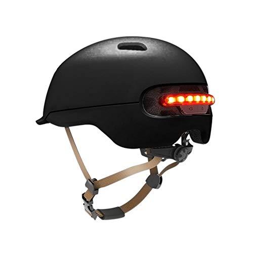 Urben Life Casco Bicicleta con luz LED para XIAOMI M365, Patín Eléctrico...
