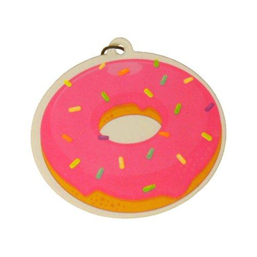 Donut Lufterfrischer - Fast Food Donut Duftbaum Auto Lufterfrischer rosa