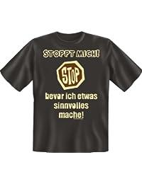 S'Arrête moi.–T-Shirt–Textiles