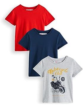 RED WAGON Camiseta Motocicleta Vintage Niños, Pack de 3