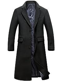 Grauer kurzer mantel herren