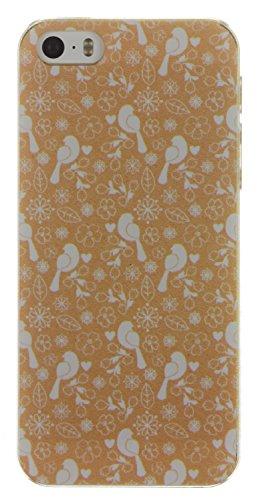 Trendz Hard Shell Schutzhülle Clip-On Case Cover für iPhone 4/4S - London Silhouettes Kraft Design