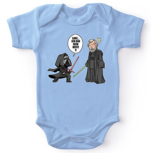 Bodys Star Wars parodique Luke Skywalker et Kylo Ren : Traduction Allemand - Luke Ich Bin Dein Neffe (Parodie Star Wars)