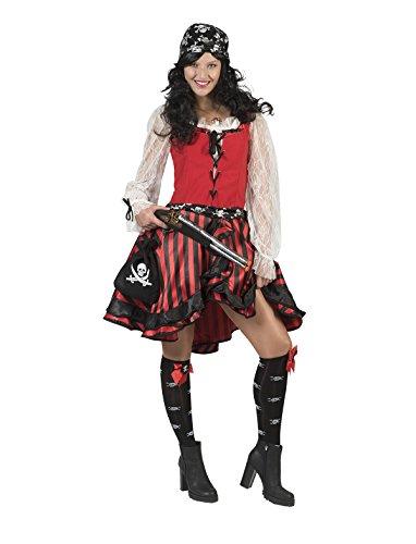 Pierro´s Kostüm Piratin Matilda Damenkostüm Größe 48-50 (Matilda Kostüm)