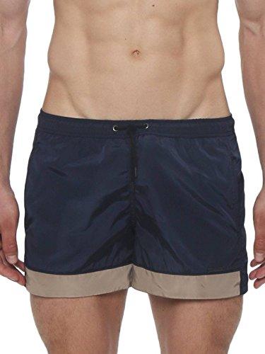 parke & ronen Homme Boxer de Bain Volley Navy