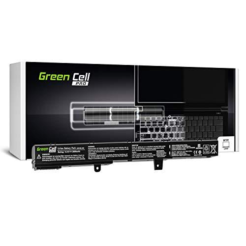 Green Cell Pro Serie A41N1308 A31N1319 Laptop Akku für ASUS X551 X551C X551CA X551M X551MA X551MAV R512 R512C R512CA F551 F551C F551M D550 D550C D550CA (Samsung Zellen, 2600mAh) -