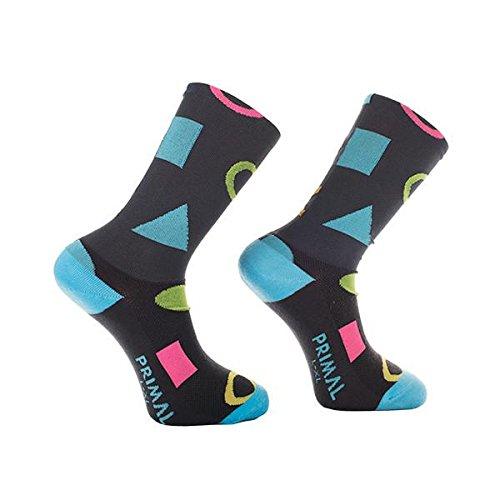 Primal Wear Herren Get in Shape Cycling Bike Socken, Mehrfarbig, Size 9-13/Large/X-Large (Wear-air Primal)