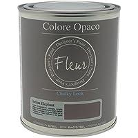 Fleur Paint 13405 - Pintura mineral (base agua, 750 ml) color indian eelphant