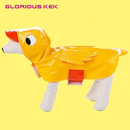 Ente Pet Kostüm - Shark Hund Kostüme Halloween Creative Cosplay Hund Kleidung lustige Ente Pet-Kostüm für große Hunde Urlaub Hund Kleidung, Ente, S