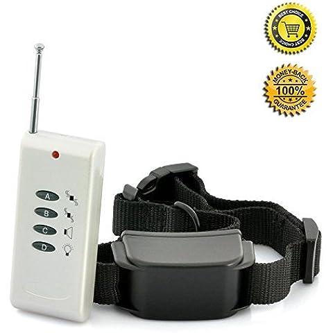 JJOBS collare di addestramento del cane sicuro , treni Your Dog umanamente ed efficacemente con remoto suono e vibrazione