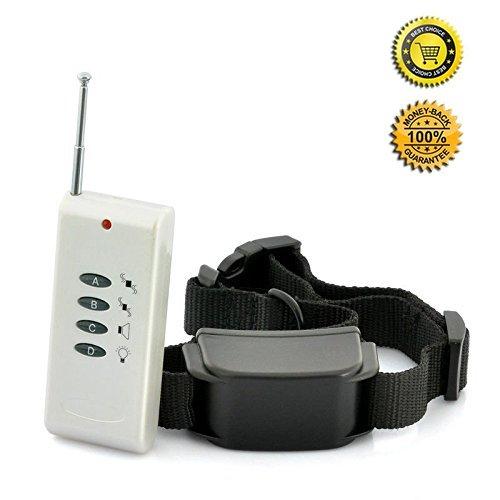 JJOBS collare di addestramento del cane sicuro , treni Your Dog umanamente ed efficacemente con remoto suono e