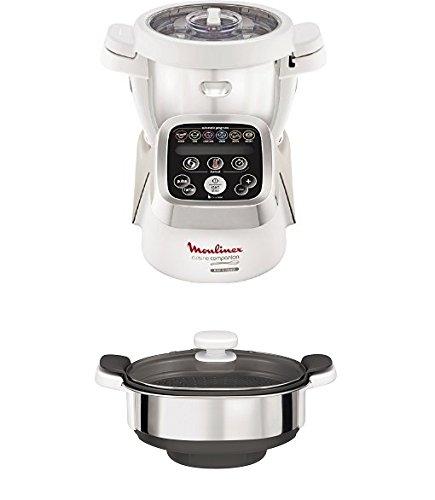 Robot Multifunzione Moulinex HF802AA1 + Vaporiera XF384B