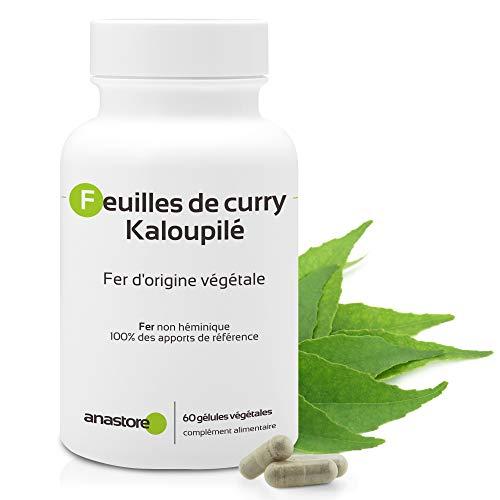 FER D'ORIGINE VÉGÉTALE (Kaloupilé)* 233.5 mg / 60 gélules * Carences (hémoglobine), Energie (fatigue), Immunitaire * Garantie Satisfait ou Rembours * Fabriqué en France